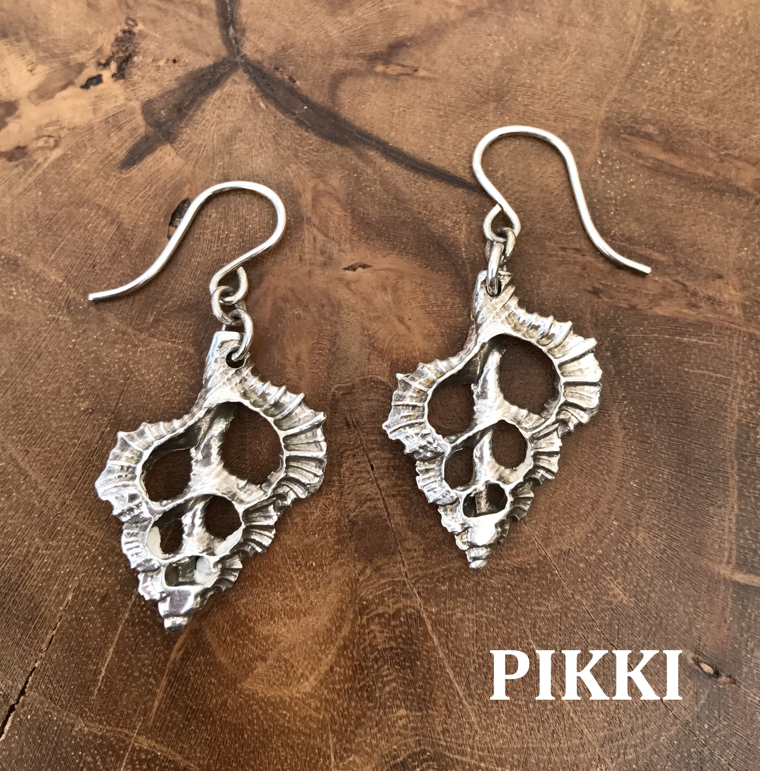 Sterling Silver Triton French Wire Earrings – Pikki Jewelry